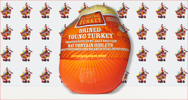 Trader Joe's All Natural Brined Young Turkey