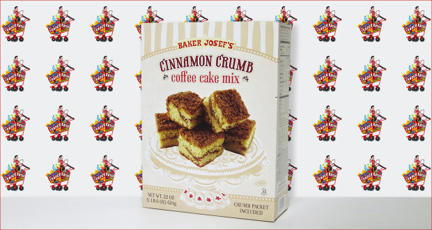 Baker Josef's Cinnamon Crumb Coffee Cake Mix