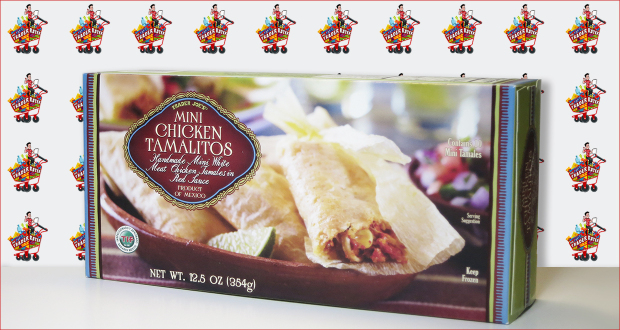 Trader Joe's Mini Chicken Tamalitos (Handmade Mini White Meat Chicken Tamales in Red Sauce)