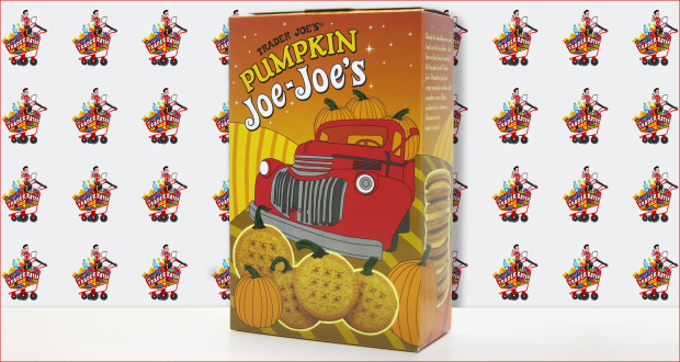 Trader Joe's Pumpkin Joe Joe's Sandwich Cookies