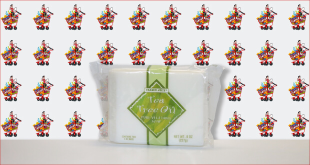 Trader Joe's Tea Tree Oil Pure Vegetable Soap