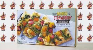 Trader Joe's Mango & Strawberry Flatbread