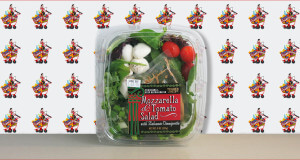Trader Joe's Mozzarella & Tomato Salad with Balsamic Vinaigrette