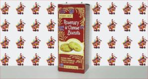 Trader Joe's Rosemary and Cheese Biscuits