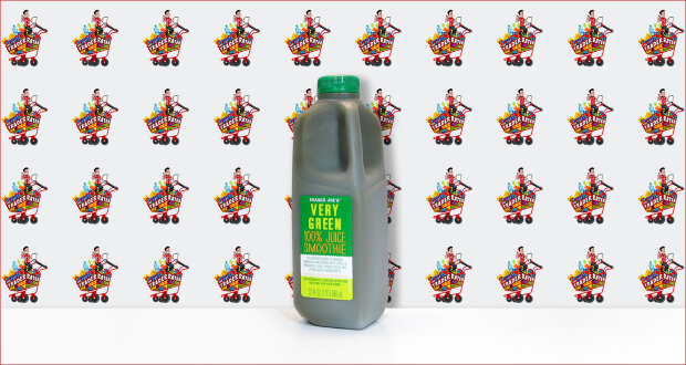 Trader Joe's Very Green 100 Percent Juice Smoothie